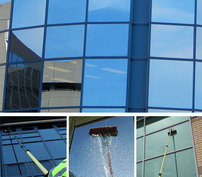 Backpool commercial window cleaning