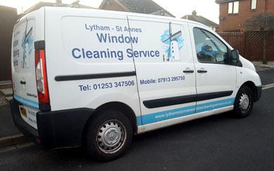 Window cleaners van